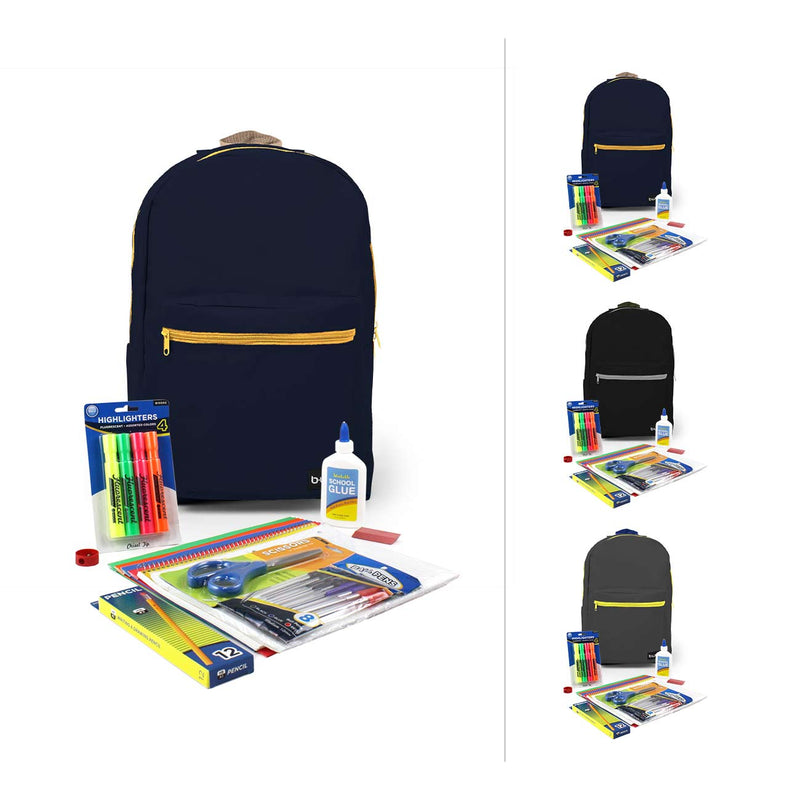 Combo 3 Jr High High Kit in 18 inch Standard Backpack