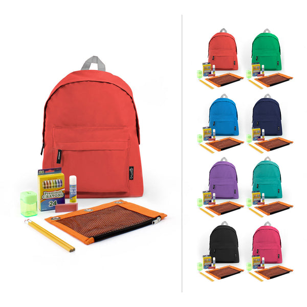 Combo 3 Wholesale Economy School Kit with Bags in Bulk