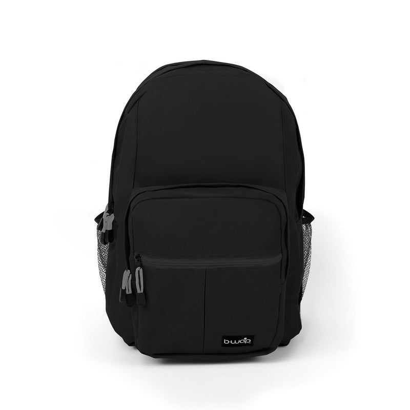 Midnight Black 18 Inch Territory Bulk Backpacks