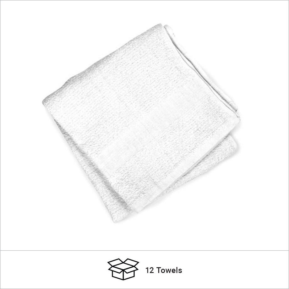 Discount White Bath Towel 20 x 40 Hygiene Product Sold in Bulk
