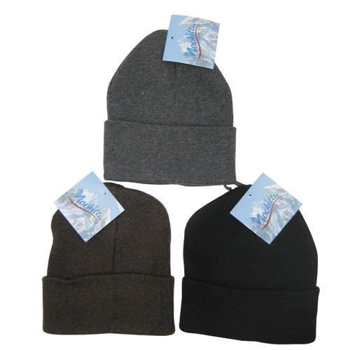 Wholesale Assorted Color Child Beanies Sold in Bulk