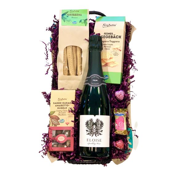 Wine & Gourmet Food Basket