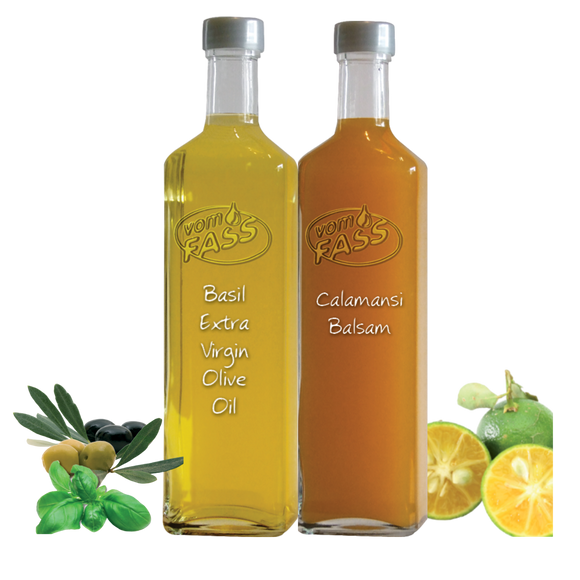 Perfect Pairings - Basil & Calamansi -250ml