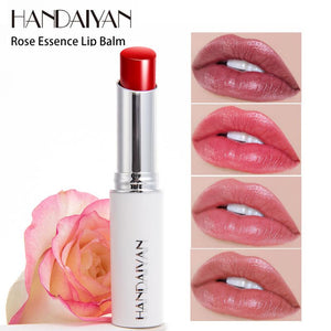 Natural Rose Essence Glitter Lipstick