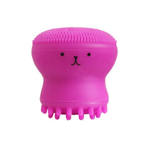 Octopus Shape Silicone Face Cleansing Brush