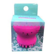 Load image into Gallery viewer, Octopus Shape Silicone Face Cleansing Brush