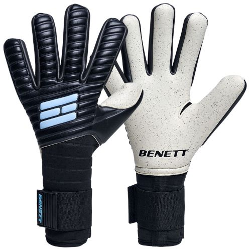 "Benett ""the Statement"" Black Aqua Dots C1"