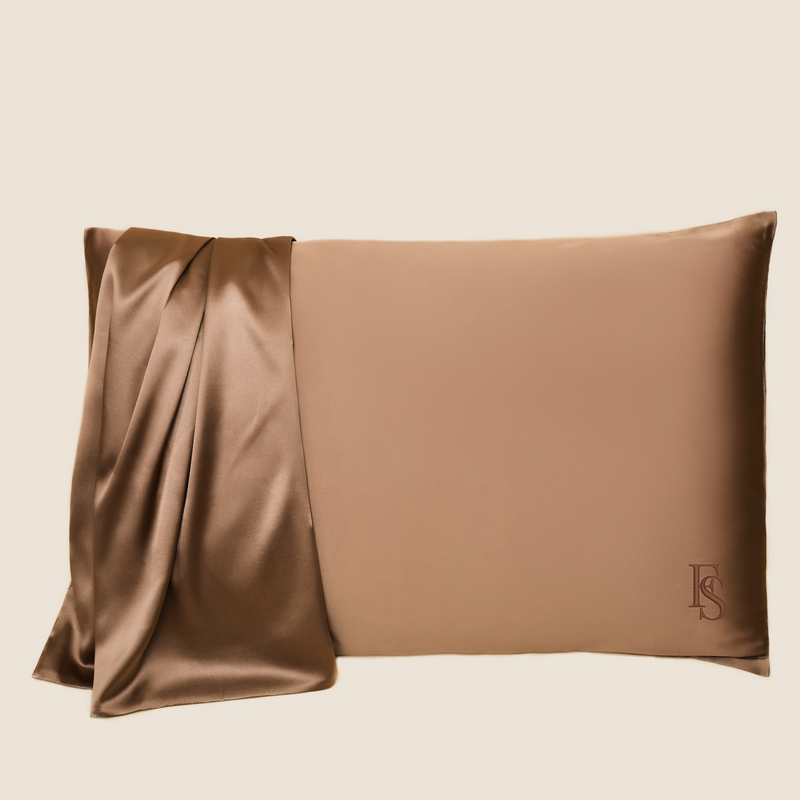Silk Queen Pillowcase (Beach Bronze)