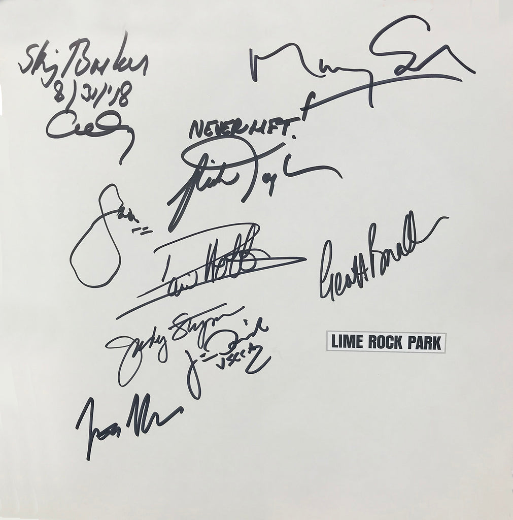Lime Rock Park Book, Signed by Contributors