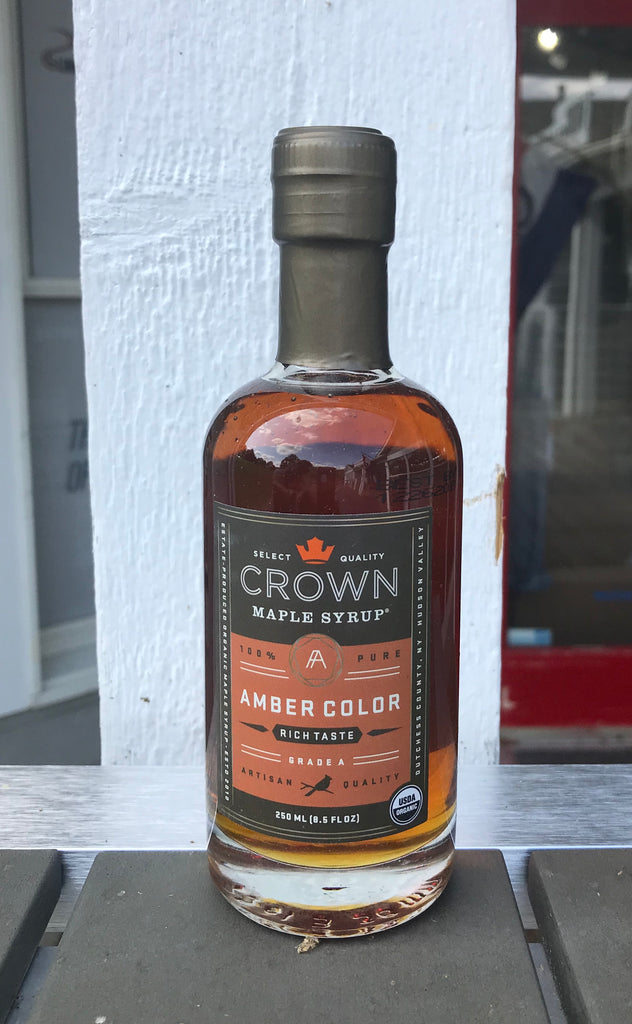 Crown maple syrup, grade A