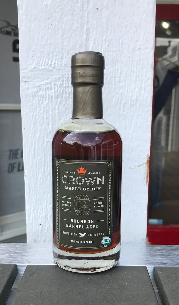 Crown maple syrup, bourbon infused