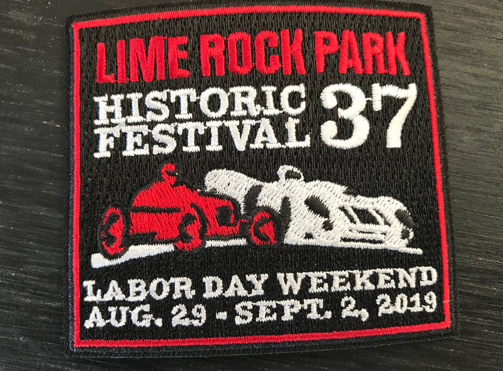 Historic Fest 37 patch