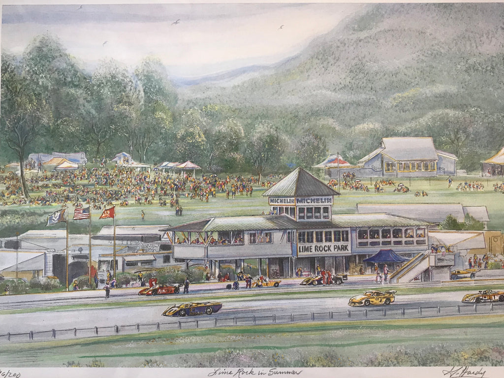 Lime Rock in Summer