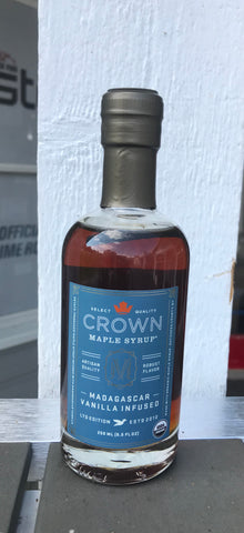 Crown maple syrup, madagascar vanilla infused