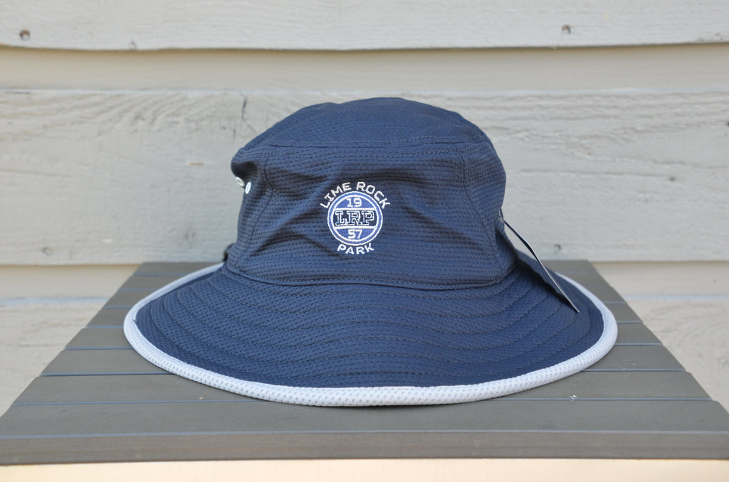 Bucket Hat, Navy - UPF 50+