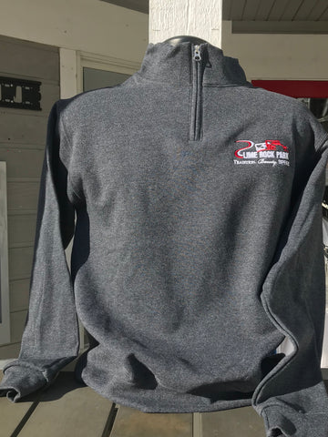 Quarter Zip - Tradition, Beauty, Speed, Charcoal Gray