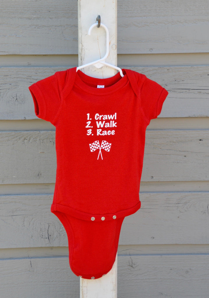 Baby Onesie, red