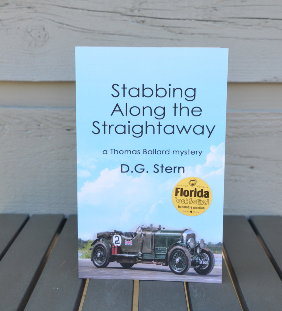 Stabbing Along the Straightaway - Book