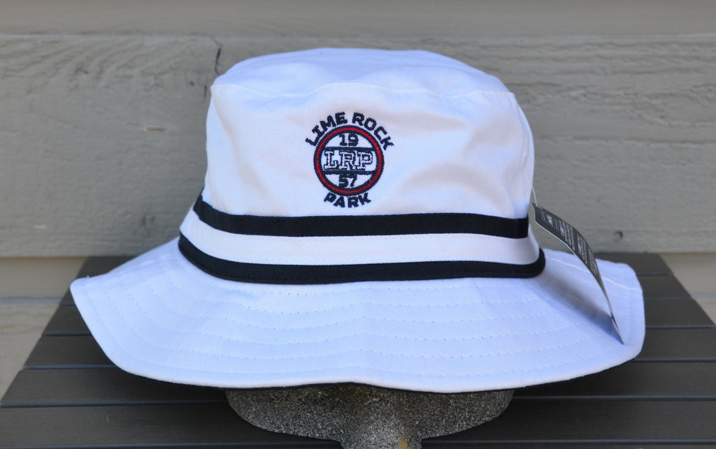 Bucket Hat, White - UPF 50+