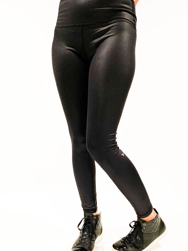 Lucky in Leather Leggings