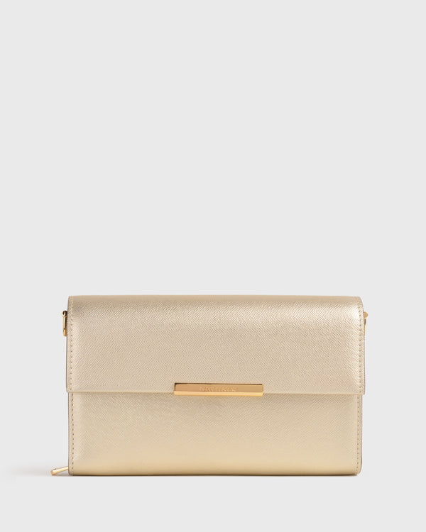Holly Half Flap Clutch