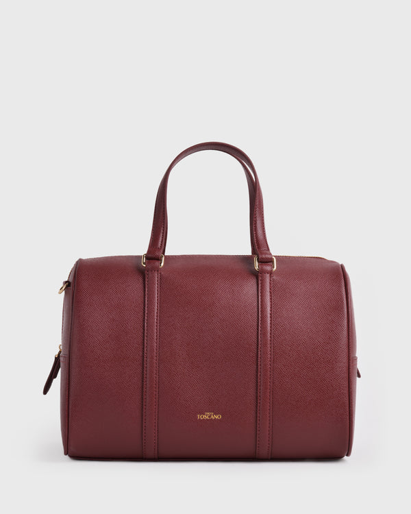 Dahlia Boston Bag | Vegan