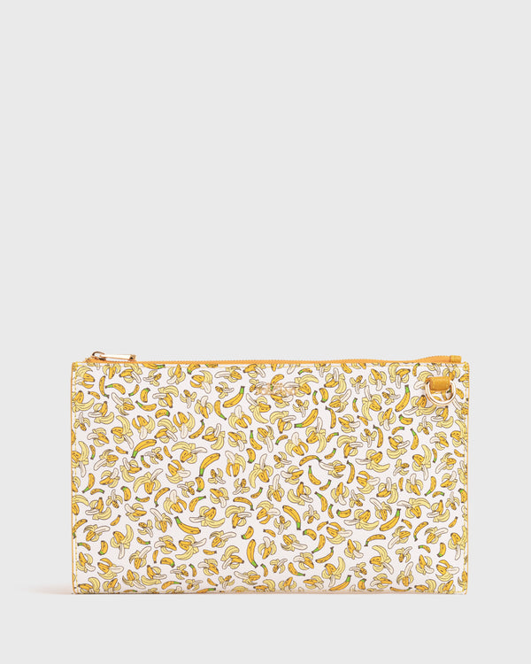 WRISTLET CLUTCH BY ASHER WON (BANANAS)