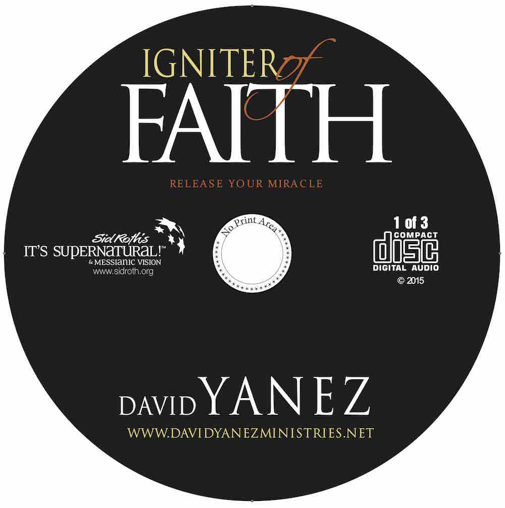Igniter of Faith Healing Service 3 CD Set