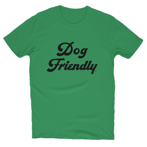 cotton, Crew neck, dog, Dog Friendly, friendly, green, Men's Clothing, soft, T-shirts, tee, Unisex, Women's Clothing
