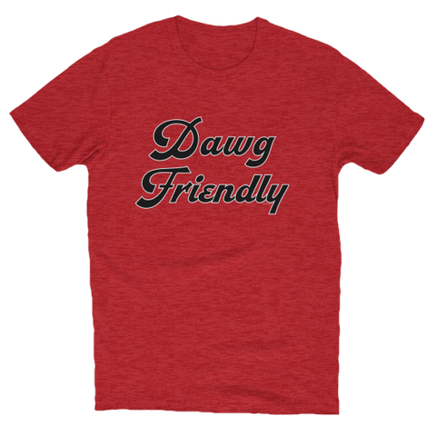 bulldogs, cotton, Crew neck, dawgs, dog, Dog Friendly, football, friendly, Georgia, Men's Clothing, red, soft, special edition, sports, T-shirts, tee, UGA, Unisex, Women's Clothing