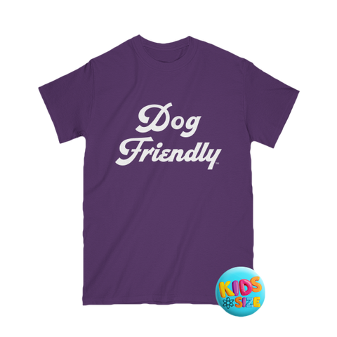 cotton, Crew neck, dog, Dog Friendly, friendly, kids, soft, T-shirts, tee, Unisex, youth