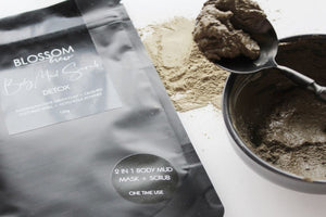 Olive Green Clay & Gotu Kola Body Mud Scrub