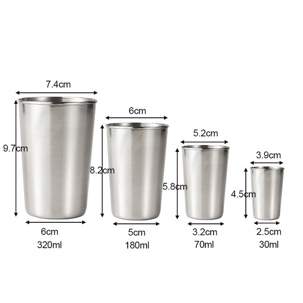 Stainless Steel Metal Cup