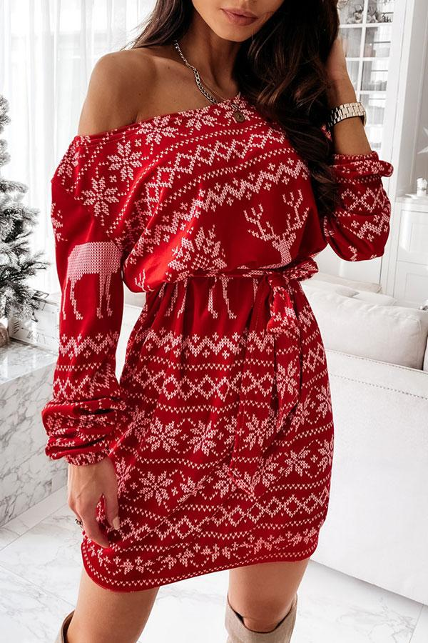 Christmas Pretty Mini Dress