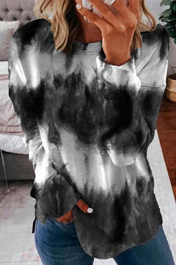 Tie Dye Cool Round Neck Sweatshirt