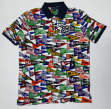 NWT POLO RALPH LAUREN ALLOVER PRINT CLASSIC FIT POLO