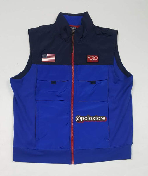 Nwt Polo Ralph Lauren Royal blue Hi tech Vest