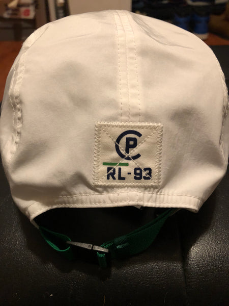 Nwt Polo Ralph Lauren White US-93 Strap Back Hat