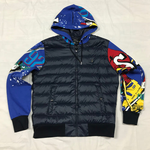 Nwt  POLO RALPH LAUREN BLUE SKI JACKET