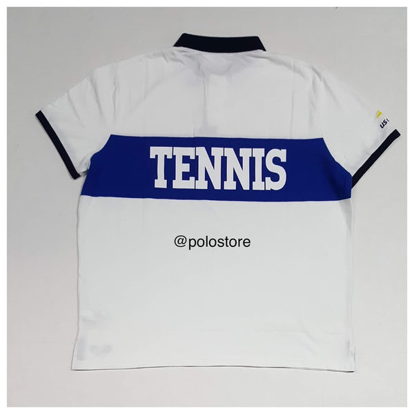 Nwt Polo Ralph Lauren White Polo Tennis US Open S/S Polo