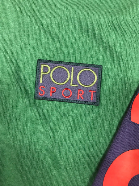 NWT POLO RALPH LAUREN SNOW BEACH COLORED COLD WAVE HOODED RUGBY