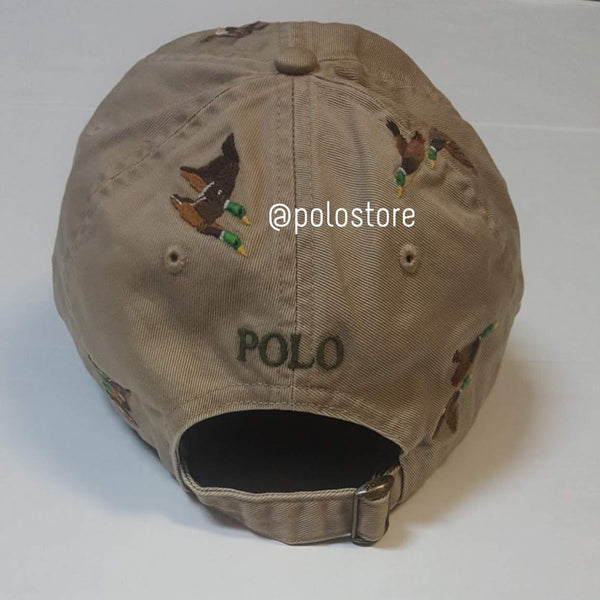 Nwt Polo Ralph Lauren Khaki Sportsman Adjustable Strap Back
