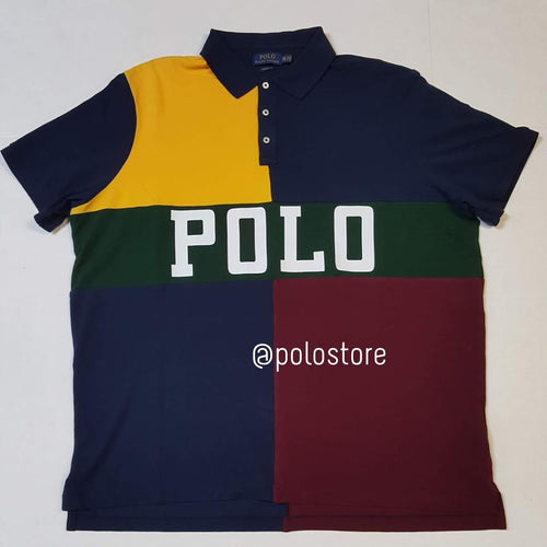 Nwt Polo Ralph Lauren Spellout Classic Fit Polo