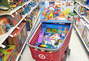 Target toys and games arrived December 8th