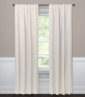 "95""x50"" Blackout Curtain Panel Edalene Almond Cream - Threshold"
