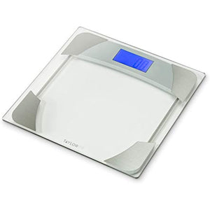 Digital Bathroom Scale with Weight Tracker Clear - Taylor