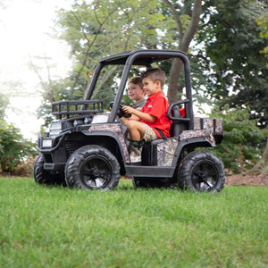 Realtree 24 Volt UTV Powered Ride-On by Dynacraft with Custom Realtree Graphics and Working Headlights