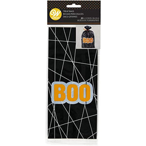 Non-Food Items Boo Treat Bags 20/PKG
