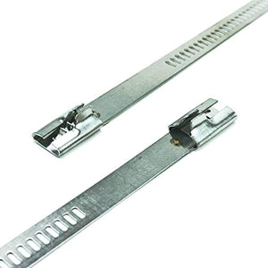 Snap Strip Stainless Steel Zip Tie
