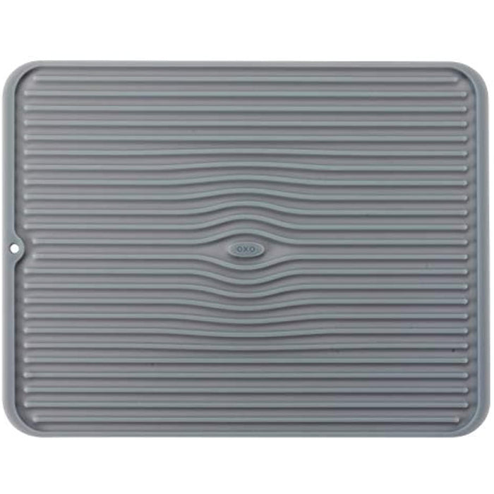 OXO Silicone Drying Mat - Grey (Large)